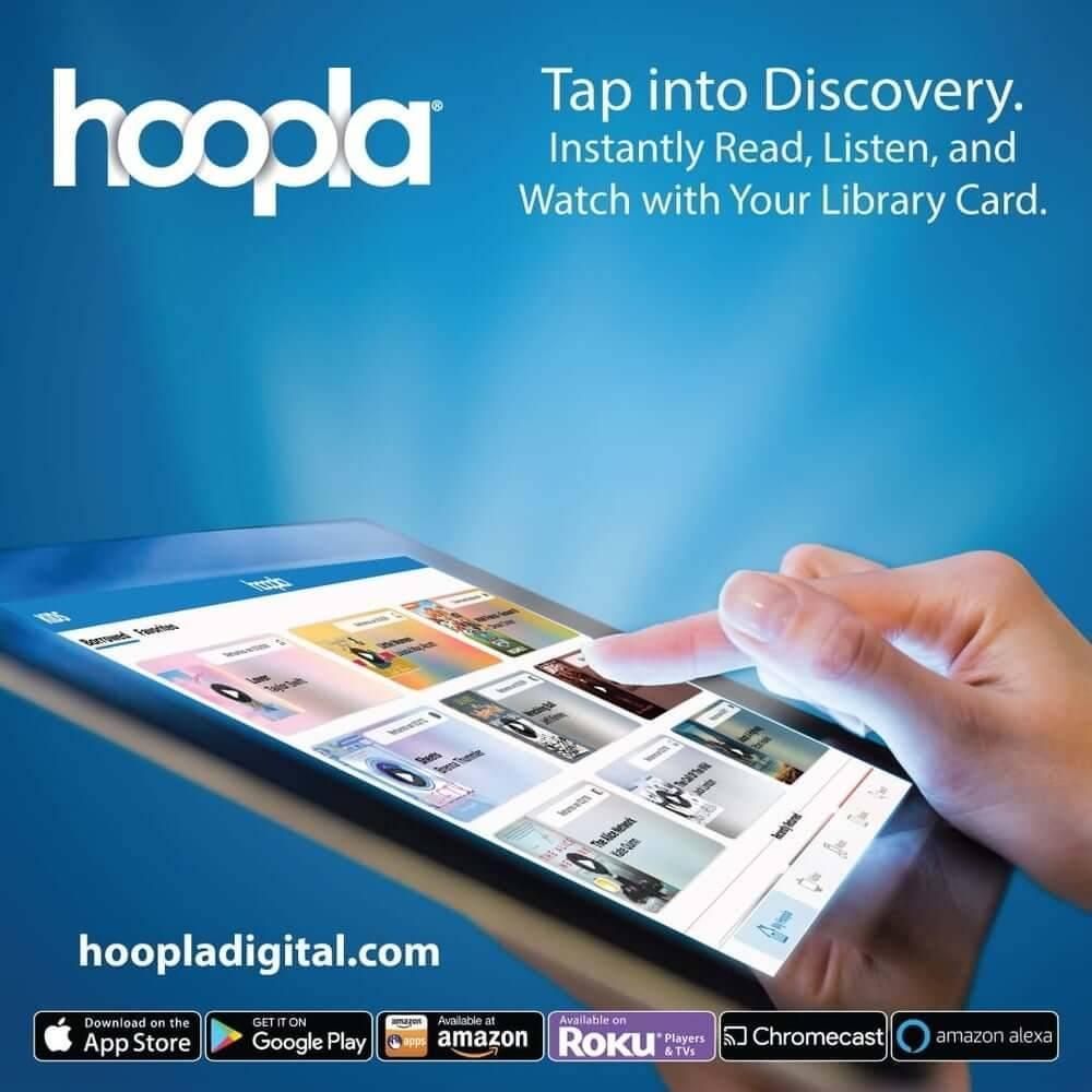 hoopla – Stream eBooks, Audiobooks, & Movies